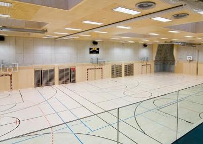 Neue Mittelschule Turnhalle
